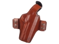 Bianchi Classified Outside the Waistband Holster Right Hand 1911 Leather Tan