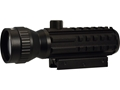 Konus SightPro DP Red Dot Sight 1X 30mm with Integral Weaver-Style Mount and 2x Power Booster and Accessory Rails Matte