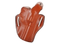 DeSantis Thumb Break Scabbard Belt Holster Right Hand Ruger Redhawk 4&quot; Leather Tan