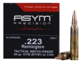 Product detail of ASYM Precision Tactical Match Ammunition 223 Remington 68 Grain Open-Tip Match (OTM) with Cannelure Box of 50