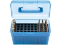 MTM Deluxe Flip-Top Ammo Box with Handle 17 Remington to 222 Remington Magnum 50-Round Plastic
