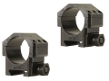 Badger Ordnance Picatinny-Style 30mm Max-50 Rings Matte Medium