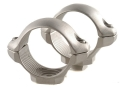 "Millett 1"" Turn-In Standard Rings Silver Low"