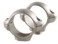 """Millett 1"""" Turn-In Standard Rings Silver Low"""