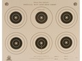 NRA Official Smallbore Rifle Targets A-32 50' Light Rifle Paper Package of 100