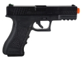Tactical Force Combat Airsoft Pistol 6mm CO2 Double Action Only Blowback Polymer Black