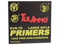 TulAmmo Large Rifle Primers Lead-Free Box of 1000 (10 Trays of 100)