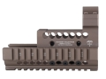 Product detail of Midwest Industries US Palm 2-Piece Railed Handguard AK-47, AK-74 with Aimpoint ML2 Top Cover Optic Mount Aluminum
