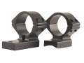 Talley Lightweight 2-Piece Scope Mounts with Integral 1&quot; Rings Savage 10 Through 16, 110 Through 116 Flat Rear Matte Low