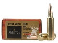 Federal Premium Vital-Shok Ammunition 300 Winchester Short Magnum (WSM) 165 Grain Barnes Triple-Shock X Bullet Hollow Point Lead-Free Box of 20