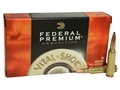 Federal Premium Vital-Shok Ammunition 7mm-08 Remington 140 Grain Nosler Partition Box of 20