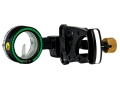 Trophy Ridge Drive 1-Pin Bow Sight .029&quot; Pin Diameter Aluminum Black