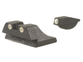 Product detail of Meprolight Tru-Dot Sight Set Ruger P94, P97 Steel Blue Tritium Green