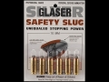 Glaser Silver Safety Slug Ammunition 10mm Auto 115 Grain Safety Slug Package of 6
