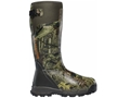 "LaCrosse Alphaburly Pro 18"" Waterproof 1000 Gram Insulated Hunting Boots Rubber Clad Neoprene Mossy Oak Break-Up Infinity Men's"