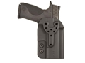 Comp-Tac QB Belt Holster Ambidextrous Size 4 1911 Government, Commander, Officer with or without Rail Kydex Black