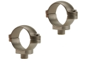 """Leupold 1"""" Quick-Release Rings Silver Low"""