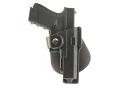 Product detail of Fobus Tactical Speed Roto Paddle Holster Right Hand Glock 17, 22, 31 with Laser or Light Polymer Black