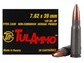 TulAmmo Ammunition 7.62x39mm 122 Grain Jacketed Hollow Point (Bi-Metal) Steel Case Berdan Primed Case of 1000