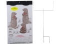 EZ Target Prairie Dog Town Master Pack Target 11&quot; x 17&quot; Paper Package of 15 with Stand and Backer