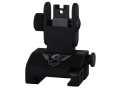 Wilson Combat Quick Detachable Rear Sight AR-15 with CSAT Aperture Steel Matte