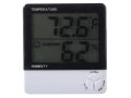 Product detail of HySkore Digital Hygrometer Polymer Black and White