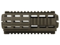 TAPCO Intrafuse Handguard Quad Rail AR-15 Carbine Length Synthetic Olive Drab - Blemished