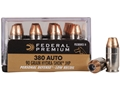 Product detail of Federal Premium Personal Defense Reduced Recoil Ammunition 380 ACP 90 Grain Hydra-Shok Jacketed Hollow Point Box of 20