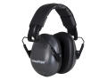 Champion Slim Passive Earmuffs (NRR 21dB) Adjustable Black