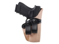 Gould &amp; Goodrich Inside the Waistband Holster Right Hand Glock 26, 27, 33 Leather Tan