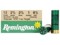 Remington Premier STS Target Ammunition 12 Gauge 2-3/4&quot; 1 oz #8-1/2 Shot
