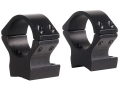 Talley Lightweight 2-Piece Scope Mounts with Integral 1&quot; Rings Browning X-Bolt Matte Low