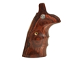 Smith & Wesson Factory Grips with Finger Grooves S&W N-Frame Square Butt Rosewood