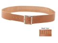 "Hunter Cartridge Belt 2-1/2"" 22 Rimfire 25 Loops Leather Brown Large"