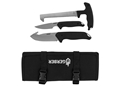 Gerber Moment Field Dressing Kit 3 Piece Fixed Blade Gut Hook Knife, Caping Knife and Bone Saw
