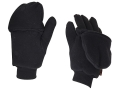 HeatMax Heated Mitten Glove Synthetic Blend Black Medium/Large