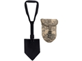 Military Surplus Entrenching Tool with ACU Carrier Steel Black