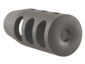 "Holland's Quick Discharge Muzzle Brake 5/8""-28 Thread .650""-.750"" Barrel Tapered Chrome Moly"