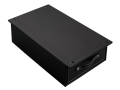 Stack-On Small Safe Drawer Black