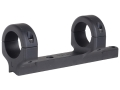 Product detail of DNZ Products Game Reaper 1-Piece Scope Base with 1&quot; Integral Rings CVA Black Powder Matte Low