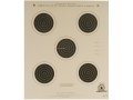 Product detail of NRA Official Smallbore Rifle Target A-7/5 75' 4 Postion Paper Package of 100