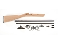"Traditions Deerhunter Black Powder Rifle Unassembled Kit 50 Caliber Percussion 1 in 48"" Twist 24"" Barrel in the White"