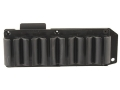 TacStar SideSaddle Shotshell Ammunition Carrier 12 Gauge 6-Round Winchester 1200, 1300 Black