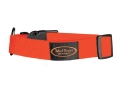 "Mud River Bootlegger Adjustable Clip Dog Collar Small/Medium 15""-20"" Nylon Blaze Orange"