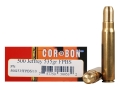 Cor-Bon Expedition DPX Hunter Ammunition 500 Jeffrey 535 Grain Barnes Banded Solid Flat Point Box of 10