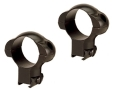 "Redfield 1"" Tip-Off Ring Mount 3/8"" Grooved Receiver Matte"