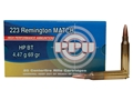 Prvi Partizan Match Ammunition 223 Remington 69 Grain Hollow Point Boat Tail Box of 20