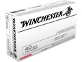 Winchester Ammunition 40 S&amp;W 180 Grain Bonded Hollow Point