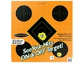 "Caldwell Orange Peel Target 12"" Self-Adhesive Sight-In Package of 12"