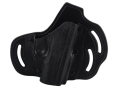 DeSantis Intimidator Outside the Waistband Holster Right Hand Kahr PM45 Kydex and Leather Black